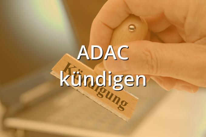 ADAC kündigen Muster