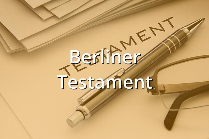 Berliner Testament Muster