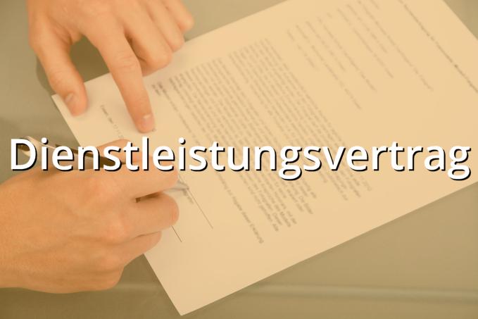 Dienstleistungsvertrag Muster Musterix