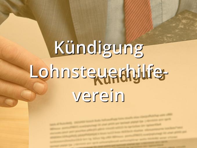 Förderverein kündigen muster kostenlos mitgliedschaft Kündigung Vorlagen