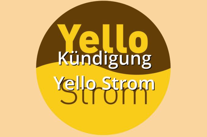 Kündigung Yello Strom Muster