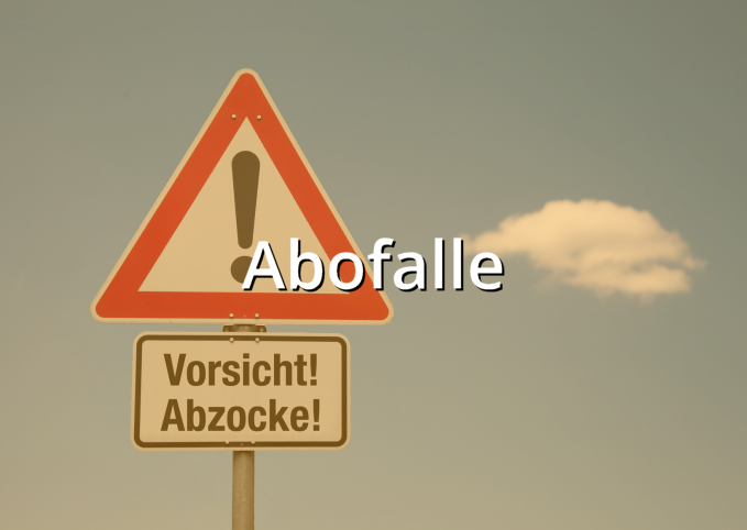 Musterbrief Abofalle