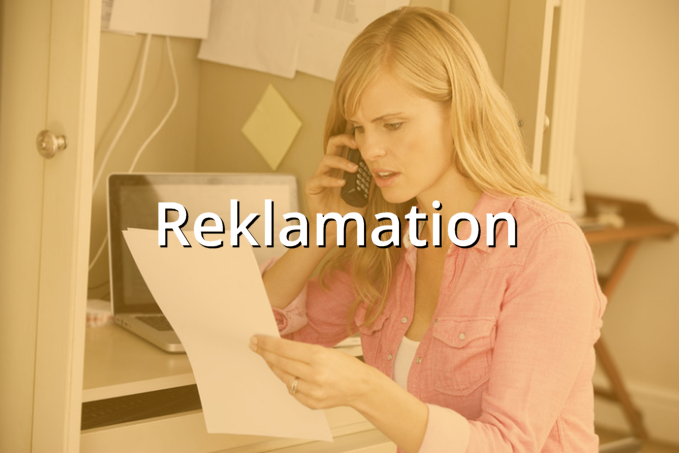 Musterbrief Reklamation