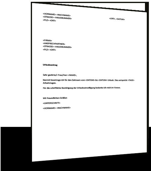 Musterbriefe Widerspruch Einlegen : Musterbrief urlaub musterix