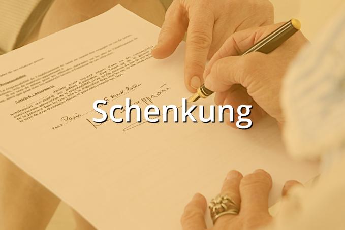 Schenkungsvertrag Bargeld Rechtssicheres Muster Zum Download