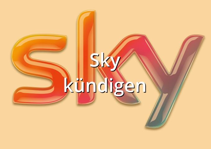 Sky kündigen Muster