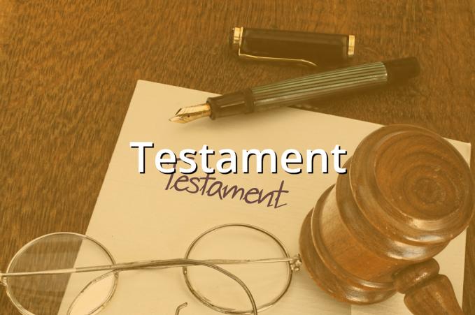 Testament Muster