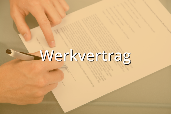 Werkvertrag Muster