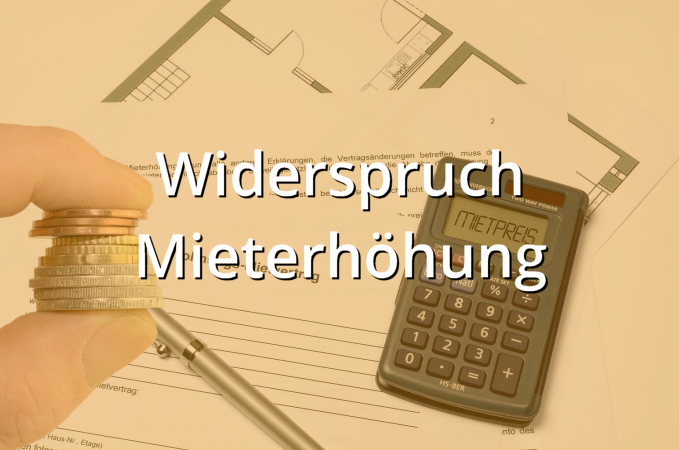 widerspruch mieterh hung muster musterix. Black Bedroom Furniture Sets. Home Design Ideas